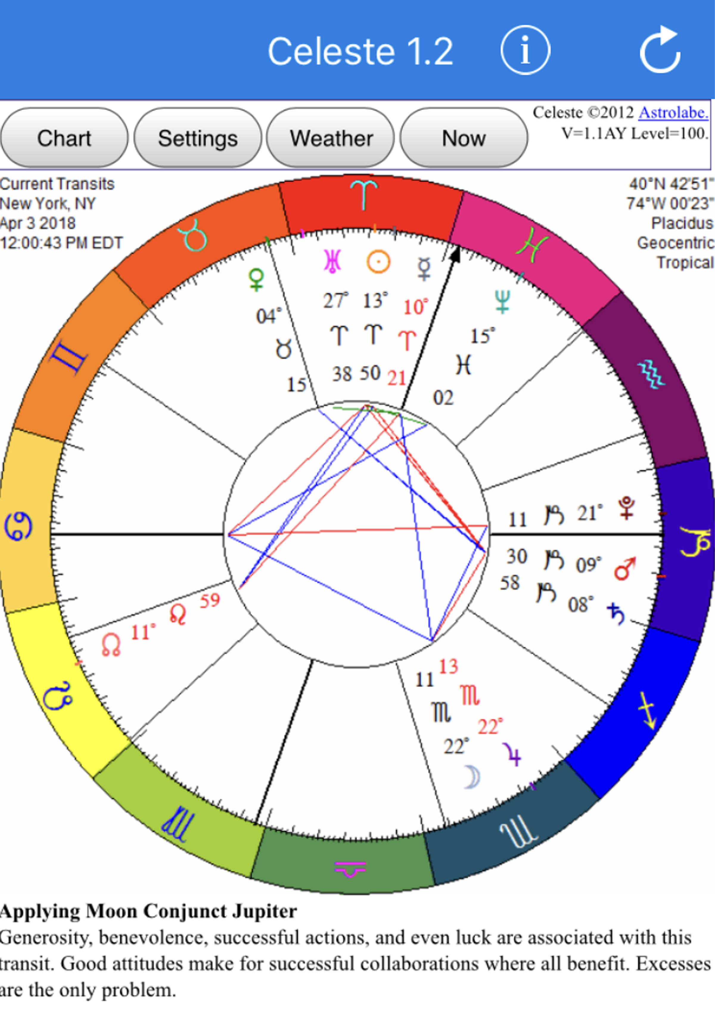 Tuesday april 3 2018 1200 noon chart turn to the stars turn to the stars astrology news nvjuhfo Image collections
